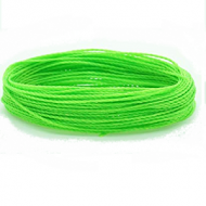 Wax Polyester 1mm Neon Groen