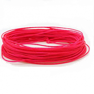 Wax Polyester Neon Roze 1mm