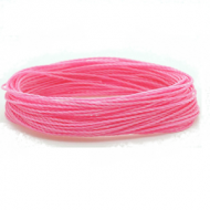 Wax Polyester Roze Pink 1mm