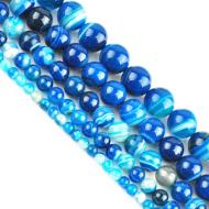Edelsteen-kralen-Blue-Stripe-agaath