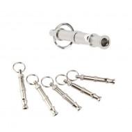 Hanger-Zilveren-Honden-Fluit