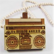 Hip-Hop-Ketting-Boombox