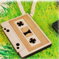 Houten Ketting Cassetteband