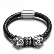 Armband-Leder-Leeuw