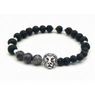 Lava - Edelstenen Armband - Leeuw