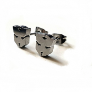 Oorbellen-Autobots-Steel