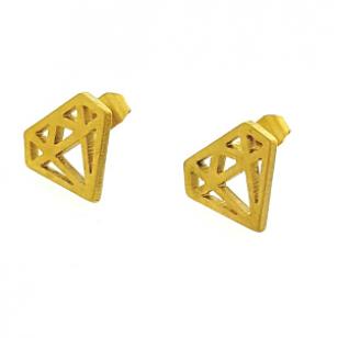 Oorbellen-Diamant-Goud