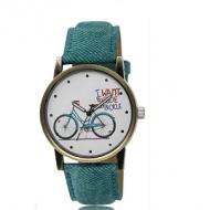 Horloge - Jeans met fiets