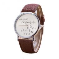 Horloge-Who-Cares-Bruin