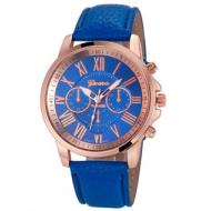 Horloge-Geneva-Blauw