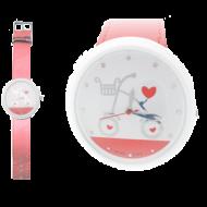 Horloge-Big-Fiets-Rood