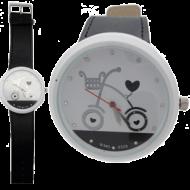 Horloge-Fiets-BIG-Zwart