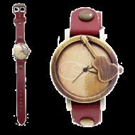 Horloge-VIntage-Gitaar-Rood