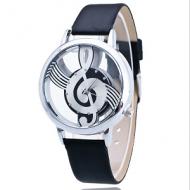 Horloge-Muziek-Zwart