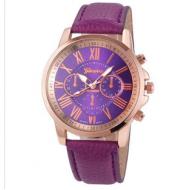 Horloge-Geneva-Paars