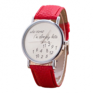 Horloge-Who-Cares-Rood
