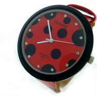 Horloge Dots - Rood-stippel