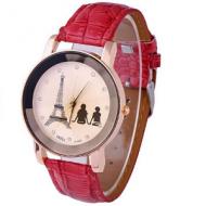 Horloge-Eiffel-Toren-Rood