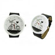 Zwart Fiets Horloge