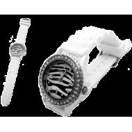 Horloge Zebra wit Geneva