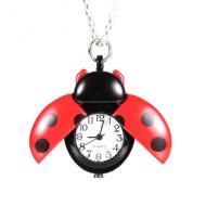Horloge Ketting Ladybug