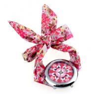 Horloge stof wikkel Roze