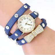 Horloge Wikkel Strik Blauw