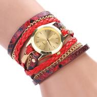 Horloge  Rood Leopard