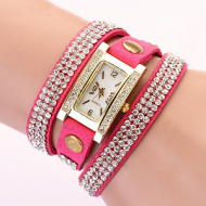 Horloge-goudkleur-strass  #3