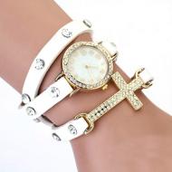 Horloge Wikkel Kruis wit