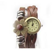 Horloge  Brons Bruin/Zwart