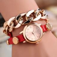 Horloge schakel rood