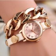 Horloge schakel wit
