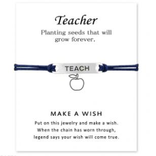 Armband Kadokaart Teacher