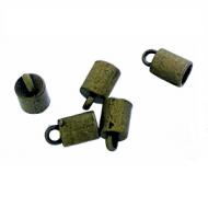 Kapje brons 4mm per stuk