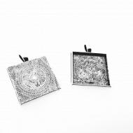Kastje-Hanger-Zilver-Vierkant