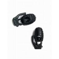 Stopper - Paracord - Granaat - Zwart