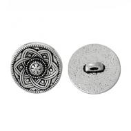 Knoop-zilver-bloem-#9