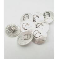Metalen Vrouw knoop 20mm