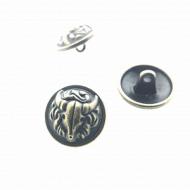 Knoop-Buffalo-metaal-bronzen