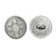 Knoop-metaal-zilver-patroon
