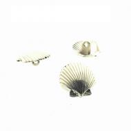 Knoop-Schelp-metaal-goud