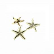 Knoop-Zeester-Metaal-gouden