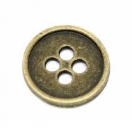 Knoop-Brons-4gaten-12mm