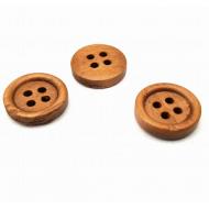 Knoop teak hout  15mm