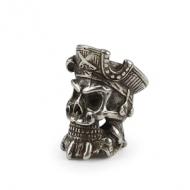 Kraal Knife Tinnen Skull Piraat
