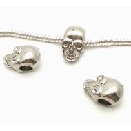 Stainless steel - Skull kraal groot gat
