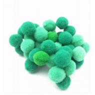 Pompoen kralen 10 mm - Groen  10stuks