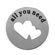 Locket Disc ALl you need is love
