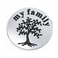 Locket Disc-My Family-rvs